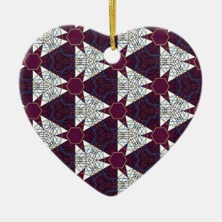 Maroon3 Ceramic Heart Decoration