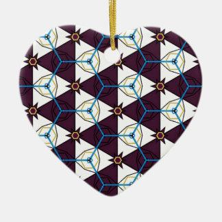 Maroon4 Ceramic Heart Decoration