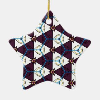 Maroon4 Ceramic Star Decoration