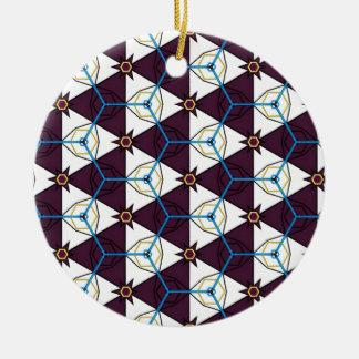 Maroon4 Round Ceramic Decoration