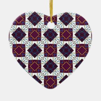 Maroon5 Ceramic Heart Decoration