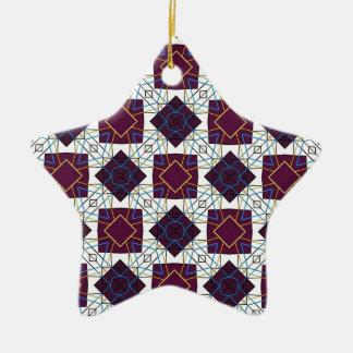 Maroon5 Ceramic Star Decoration