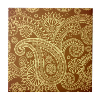 Maroon and gold paisley pattern.png tile