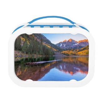 Maroon Bells Alpen Glow Lunchboxes