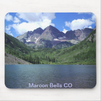 Maroon Bells Lake Mouse Mat