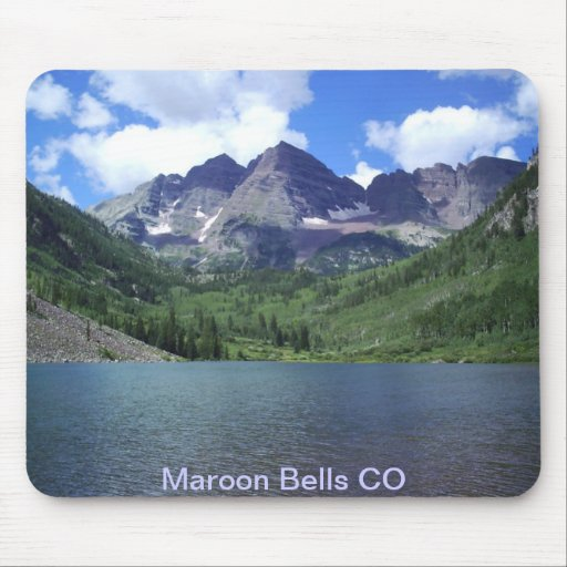 Maroon Bells Lake Mouse Pad