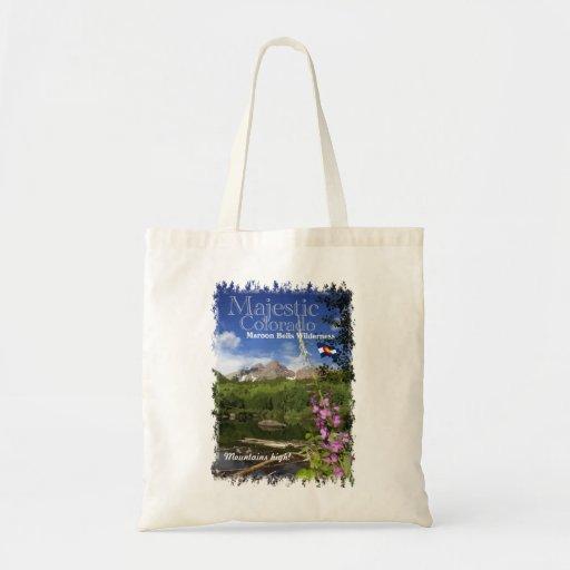 Maroon Bells - Majestic Colorado Bags