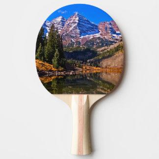 Maroon Bells Ping Pong Paddle