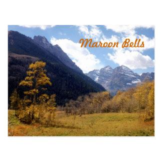 Maroon Bells Postcard