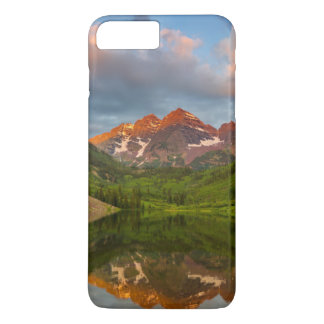 Maroon Bells Reflect Into Calm Maroon Lake 2 iPhone 8 Plus/7 Plus Case