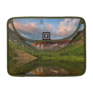 Maroon Bells Reflect Into Calm Maroon Lake 2 Sleeve For MacBook Pro