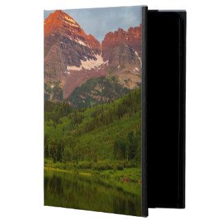 Maroon Bells Reflect Into Calm Maroon Lake 3 iPad Air Case