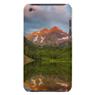 Maroon Bells Reflect Into Calm Maroon Lake 3 iPod Touch Cases