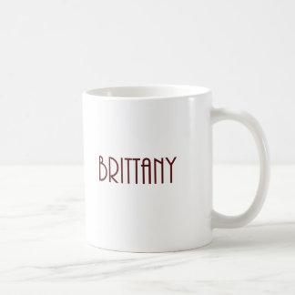 Maroon Brittany name Coffee Mug