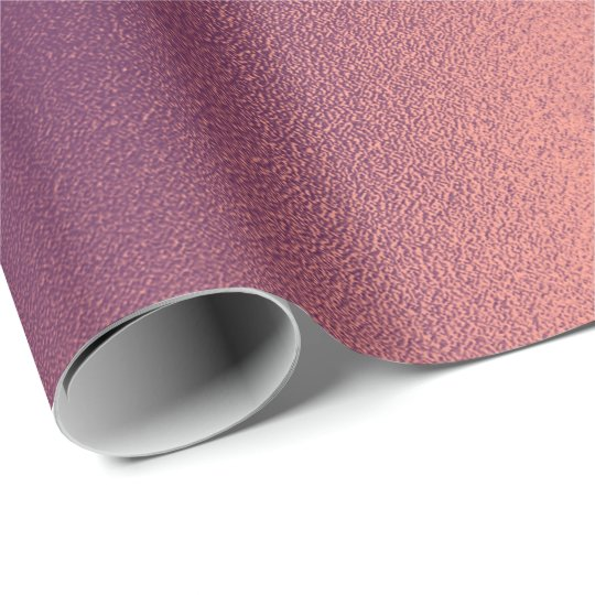 Maroon Brown Purple Glass Abstract Elegant Wrapping Paper