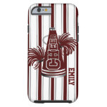 Maroon Cheerleader Custom iPhone 6 Case Tough iPhone 6 Case