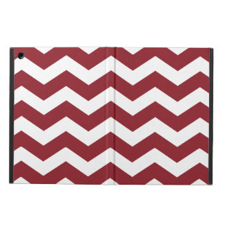 Maroon Chevron iPad Air Case