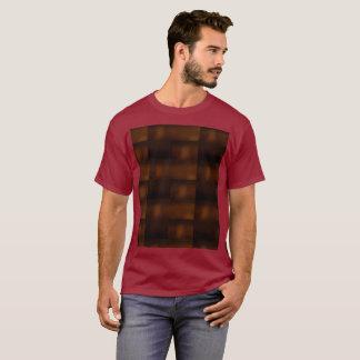Maroon Future Meets Nature Meets Ancient World T-Shirt