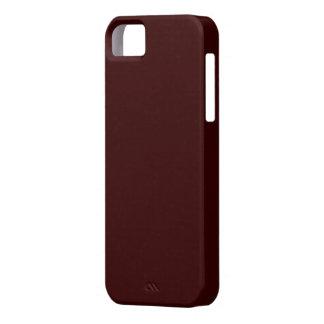 Maroon iPhone 5 Case