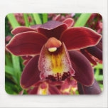 Maroon Orchid Mousepad