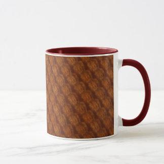 maroon pint mug