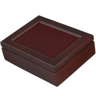 Maroon Red Color Velvet Custom Home Casino Keepsake Boxes