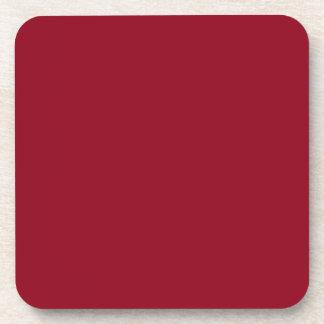 Maroon Red Cork Coaster