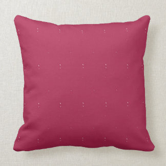"""Maroon Solid with Flecks Throw Pillow 20"""" x 20"""""""