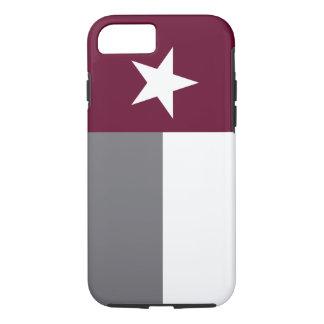 Maroon Texas Flag iPhone 7 Case