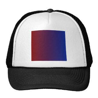 Maroon to Imperial Blue Vertical Gradient Cap
