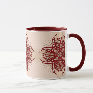 Maroon Tribal Mug