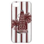 Maroon & White Cheerleader iPhone 5 Case