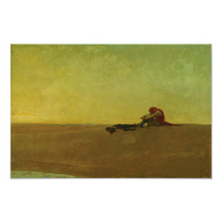 Marooned by Howard Pyle Poster