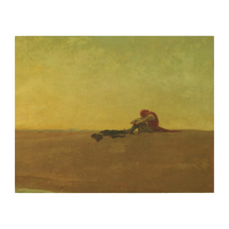 Marooned by Howard Pyle Wood Canvases