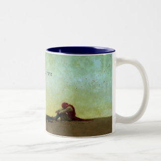 Marooned Pirate Two-Tone Coffee Mug