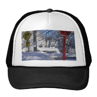 Marple - Snowstorm Mesh Hat