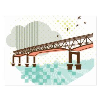 Marquam Bridge Portland Postcard