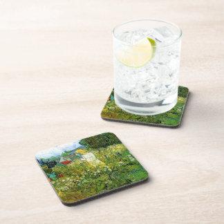 Marquerite Gachet in the Garden Vincent van Gogh Drink Coasters