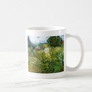 Marquerite Gachet in the Garden, Vincent van Gogh. Coffee Mugs