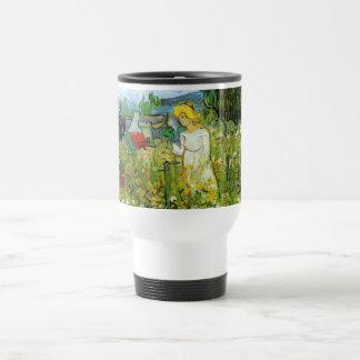 Marquerite Gachet in the Garden, Vincent van Gogh. Mug