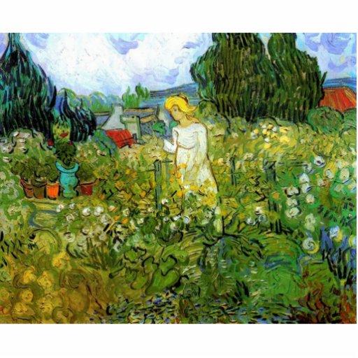 Marquerite Gachet in the Garden, Vincent van Gogh. Photo Sculptures
