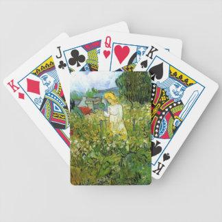 Marquerite Gachet in the Garden Vincent van Gogh Poker Cards