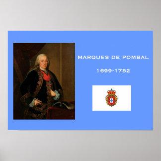 Marques de Pombal Poster