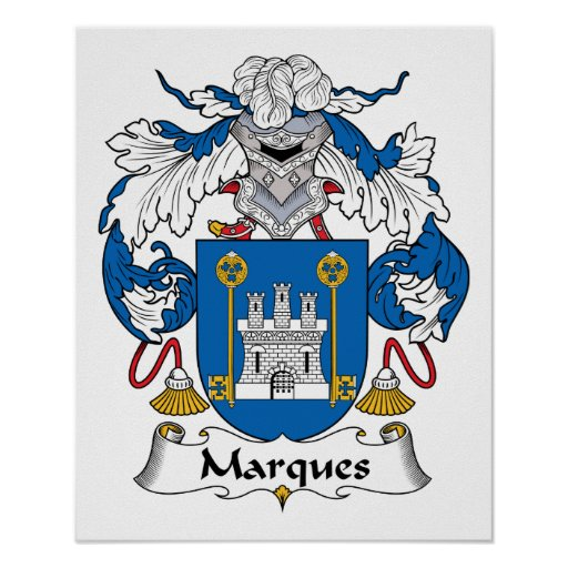 Marques Family Crest Print