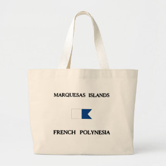 Marquesas Islands French Polynesia Canvas Bag
