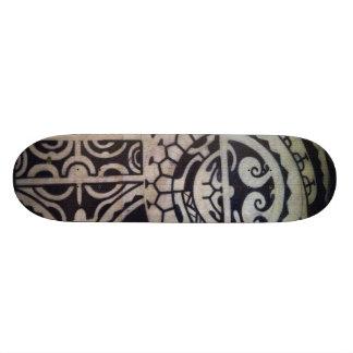 """Marquesas Sketch"" Skateboard by Samuel Shaw"