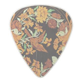 Marquetry box, English, c.1670 Acetal Guitar Pick