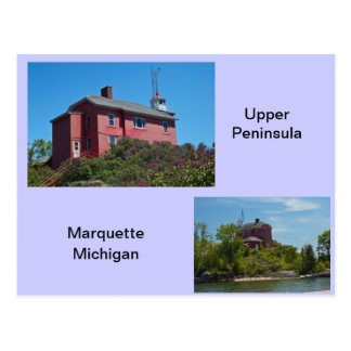 Marquette Lighthouse Postcard