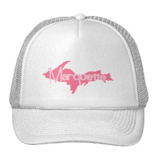 Marquette, Michigan Upper Peninsula Mesh Hat