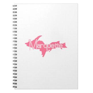 Marquette, Michigan Upper Peninsula Spiral Notebook